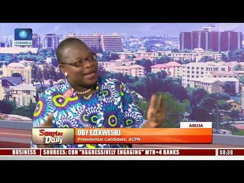 2019: We're Fighting For The Soul Of Nigeria - Ezekwesili Pt.2 |Sunrise Daily|