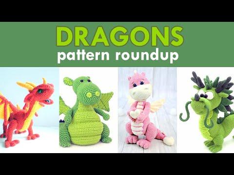 amigurumi-dragon-crochet-pattern-roundup!