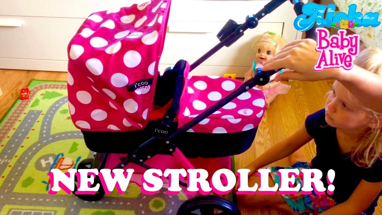 New i'coo Doll Stroller from Costco! With Baby Born Emma ...