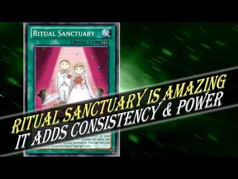 Ritual Sanctuary Is Amazing Ritual Support & Can Fix Consistency & Power Issues for a Few Decks