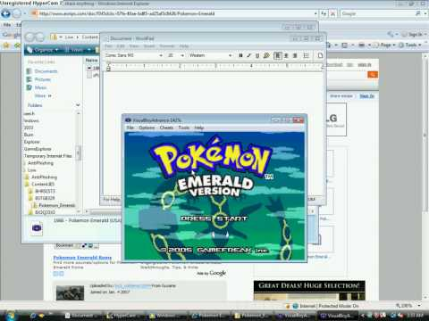 How To Download Pokemon Emerald