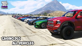 GTA 5 - CASINO DLC ALL VEHICLES - SHOWCASE