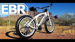 Soul Fast E Bikes Sonic Stomper SS Review - Worlds fastest electric production cruiser 1500W BBSHD