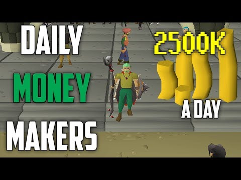 These Daily Money Makers Make Me 2.5M In 20 Minutes! [OSRS]
