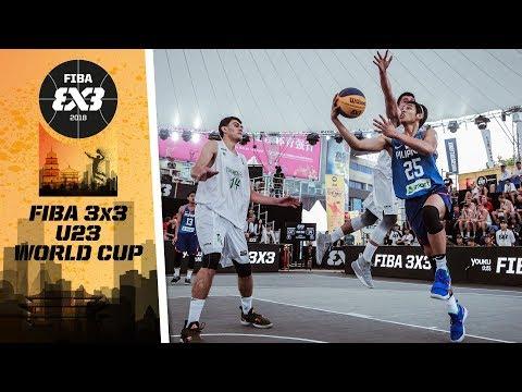 Philippines def. Turkmenistan, 21-8 (REPLAY VIDEO) FIBA 3x3 U23 World Cup 2018