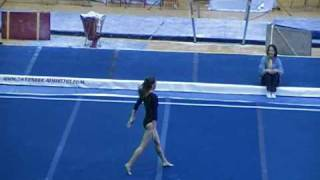 Kasey Pagani Floor Routine At The 2009 Rock-n-roll Classic