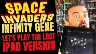 Let's play SPACE INVADERS INFINITY GENE - on iPad! Taito's discontinued iPad shoot-em-up