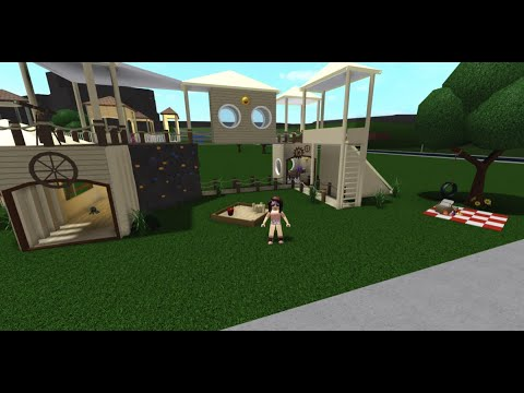 Roblox Bloxburg Playground Build 2 Story Tutorial Speedbuild