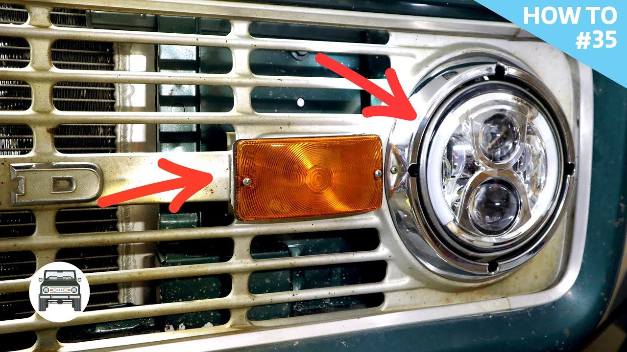 hight resolution of classic ford led lighting install how to 35 nashville early bronco