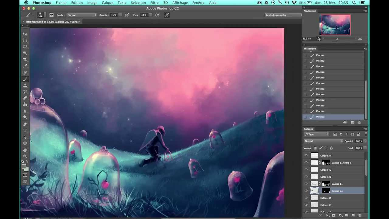 "First steps of "" You belong to me "" - Photoshop CC ..."