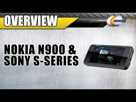 Newegg TV: On The Go -- Nokia N900 & Sony S-Series MP3 Player