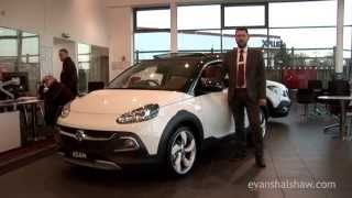 Vauxhall Adam Rocks Air 2015 Videos