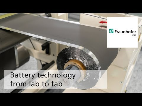 Battery technology from lab to fab