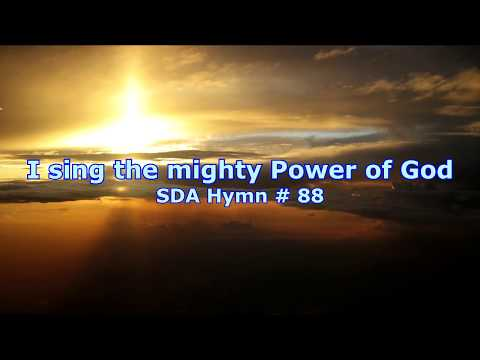 Chords for I sing the mighty power of God SDA Hymn # 88