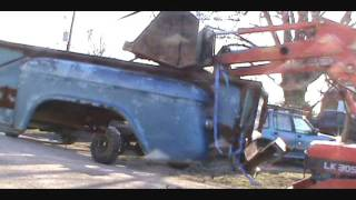 "1965 GMC Dually Project 2  ""Rear Removal"""