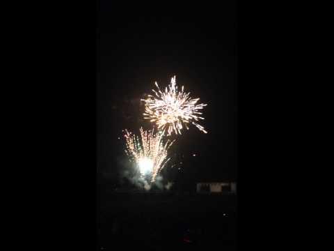2015 fireworks in Needham Massachusetts