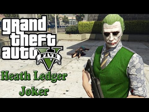 Heath Ledger Joker Skin Pack 3.0