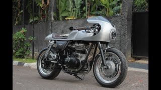 Royal Enfield Indonesia Continental GT Silver Bullet Build Process