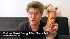 Rockstar Revolt Energy Killer Cherry Test
