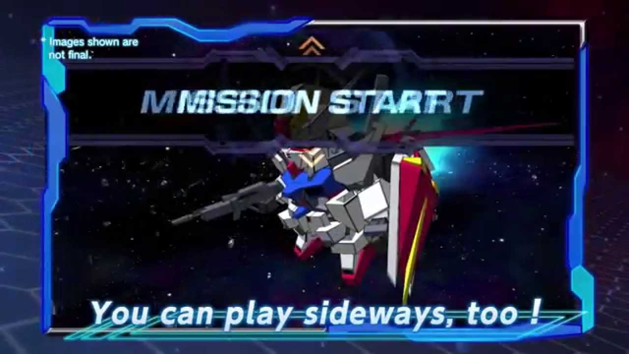 Sd Gundam Strikers Smartphone Game Trailer 1 Youtube