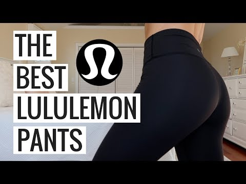LULULEMON COLLECTION TRY ON HAUL + THE BEST LULULEMON PANTS EVER | Molly J Curley
