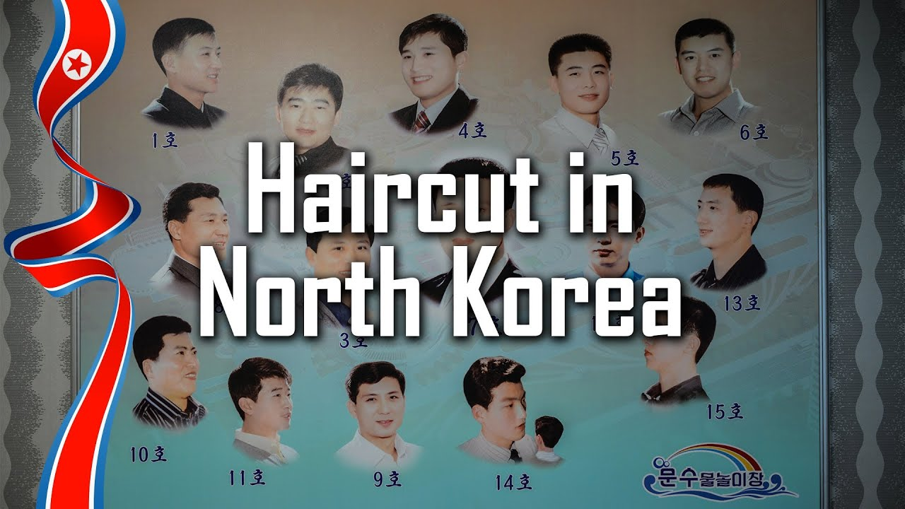 haircut in north korea - youtube
