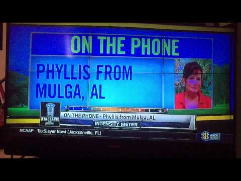 Phyllis reacts to THE OHIO STATE BUCKEYES beating Alabama in the Sugar Bowl