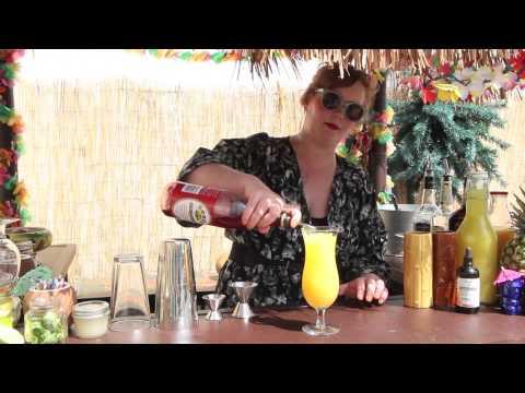 Tiki Drinks at Ogie's Trailer Park