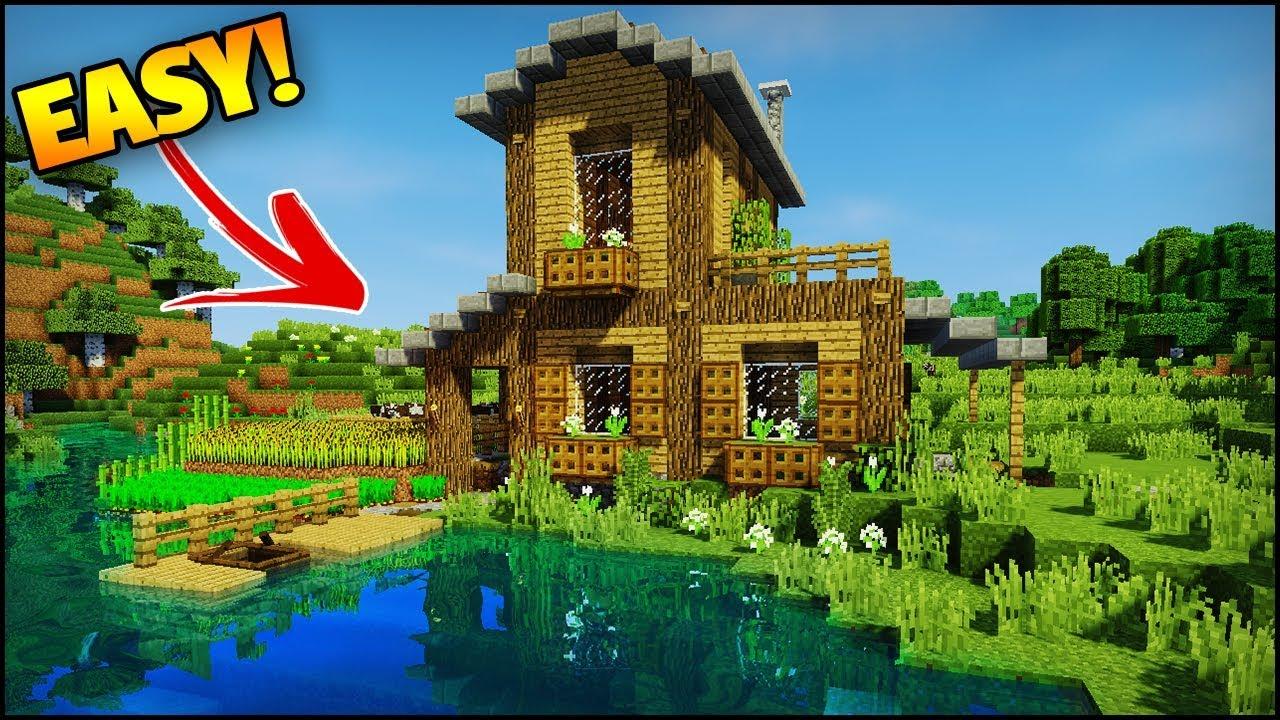 Minecraft  Amazing Starter  Survival House Tutorial  Base In