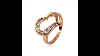 Обзор женского кольца из медицинского золота