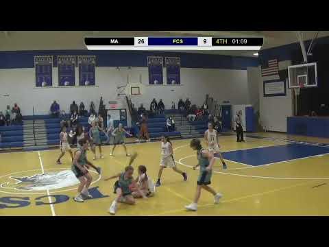 FCS vs Marlboro Academy JV Girls Basketball