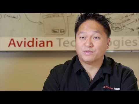 James Wong of Avidian Technologies speaks to the International Examiner