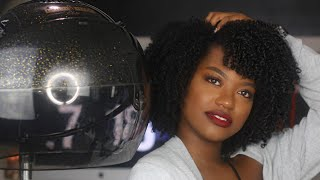 HOW TO DRY your Wash N Go in 1 HOUR!!! | 100% FRIZZ FREE, REDUCED SHRINKAGE, && LONG LASTING!!!