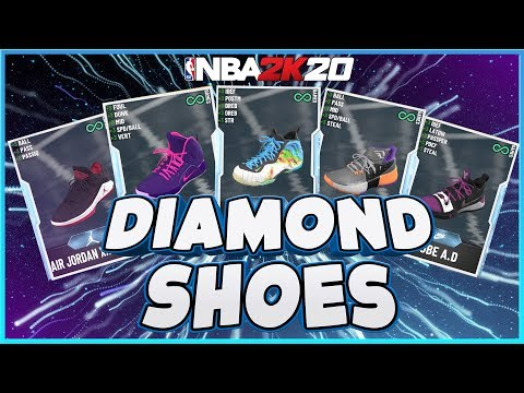 BEST DIAMOND SHOES In NBA2K20 MYTEAM - WHAT TO BUY / WHAT TO AVOID - HOW TO INCREASE PLAYER STATS !!