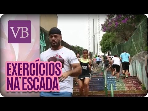 Treino nas Escadas - Você Bonita (18/07/16)