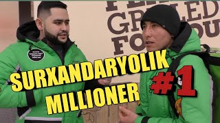 Download SURXANDARYOLIK MILIONER #1 (Delivery club) Mp3 and Videos