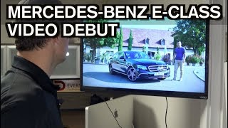 My Official Mercedes-Benz E-Class Video from Germany