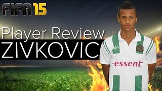 FIFA 15 Best Young Players - Richairo Zivkovic Review at Full Potential - Best Striker in FIFA 15