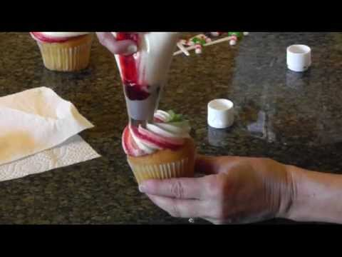 easy christmas cupcake decorating ideas - Christmas Cupcake Decorations