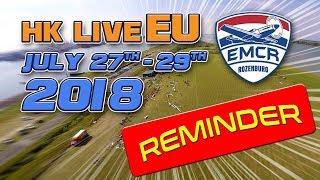 Hk Live Eu 2018 Reminder - Hobbyking Live Events