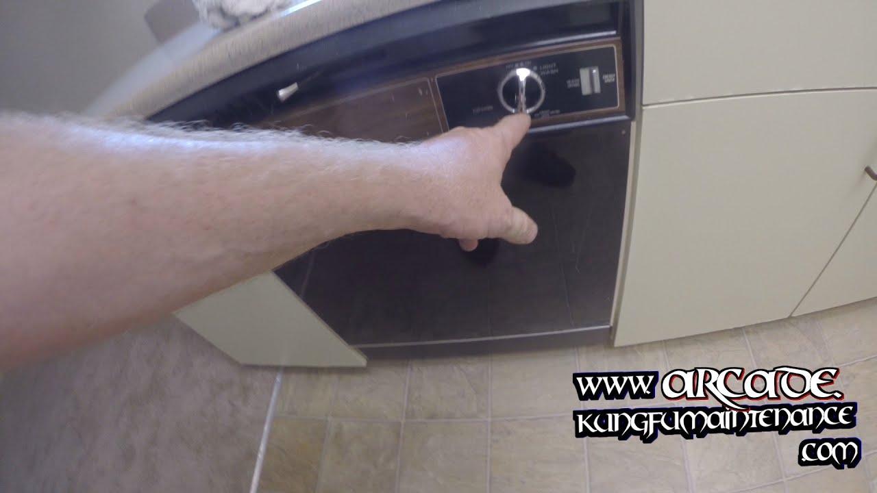 Dishwasher Motor Hums Buzzes But Won T Start Run How To Unstick Stuck Impeller Repair Video