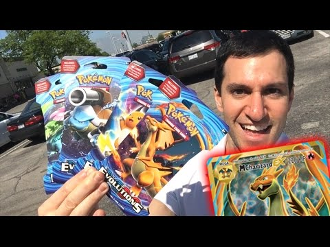 UNLUCKY! MEGA CHARIZARD EX FULL ART! Where You At? - OPENING EVOLUTIONS POKEMON CARDS BOOSTER PACKS!