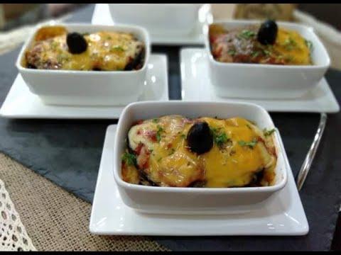 أسهل-وألذ-ڨراتان-باذنجان-فى-الفرن🍆ساهل-ماهل-والجبن-ذايب-ذوبان-gratin-d'aubergine😋من-مطبخ-نوال