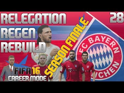FIFA 16 Bayern Munich Career Mode - RRR - E28 - Season Finale