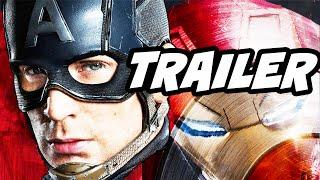 Captain America Civil War 75th Anniv Marvel Trailer and Agent Carter Season 2