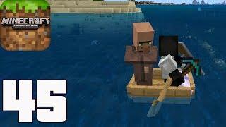 Minecraft Обзор на Apple Shields. : Pocket Edition - Gameplay Walkthrough Part 45 - Survival (IOS, Android, Windows 10)
