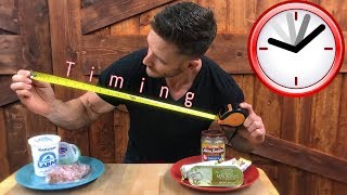 How to Time Your Meals for Max Fat Loss- Thomas DeLauer