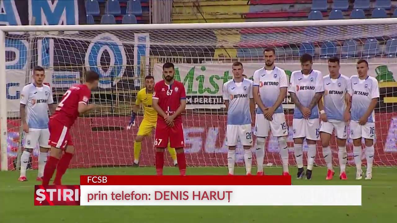 """Haruț, fericit că a ajuns la FCSB: """"Sper să îmi demonstrez valoarea"""""""