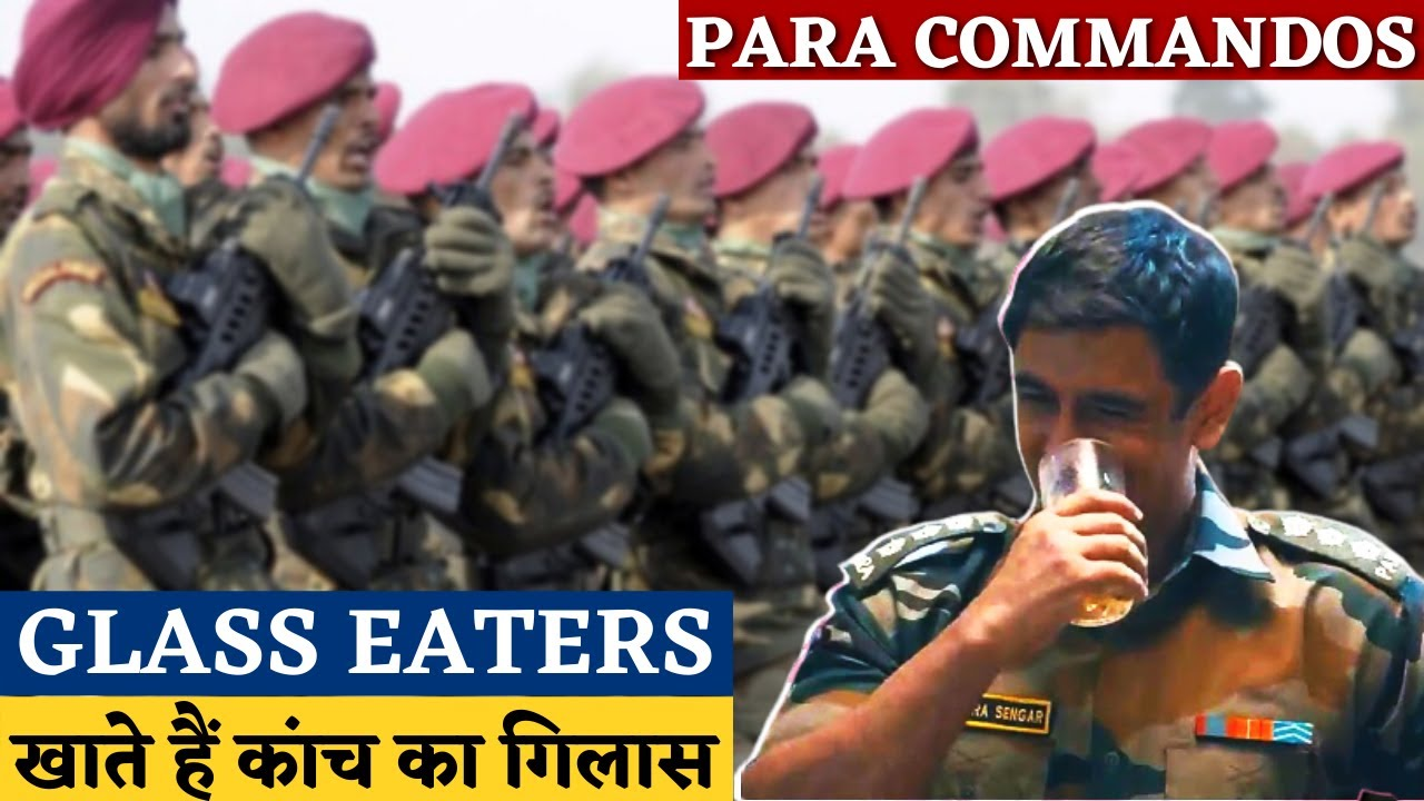 Know Why Why PARA SF is called 'Glass Eaters'? | Para Sf Glass Eating Ritual