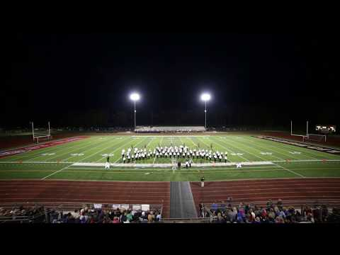 Marine City High School Mariner Marching Band British Rock! 2017